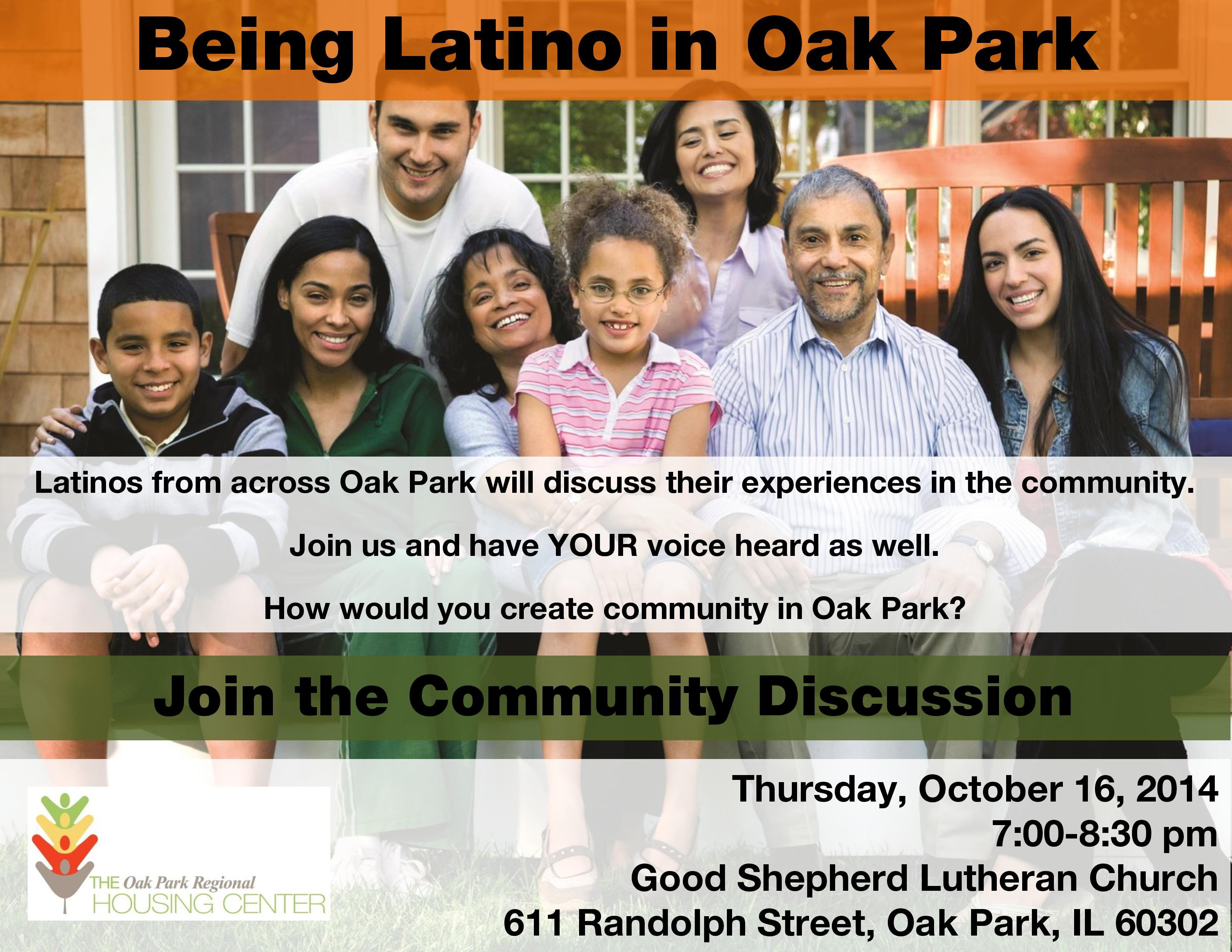 2014 Latinos in Oak Park Forum