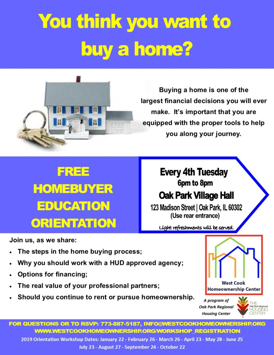homebuyer education orientation