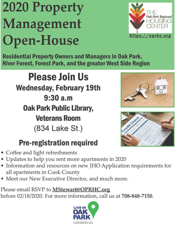 property management open-house